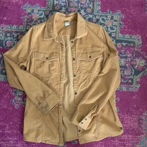 Corduroy button up